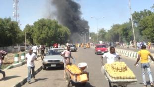 Öngyilkos merénylet a nigériai mecsetben