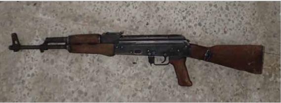 A magyar AK-55-ös.