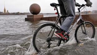 Hamarosan víz alatt lehet az orosz főváros