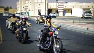 Dubaj Szelíd Kemény motorosai