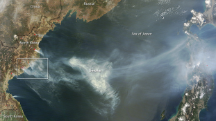 Tűz: Japánig ér Észak-Korea füstje