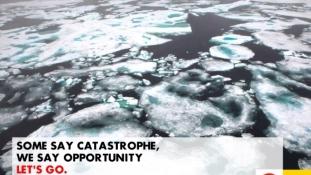 Környezetvédők jeges fogadtatása mellett indul az alaszkai fúró