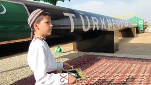 Türkmén gáz kirgiz vezetéken, Kínába