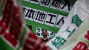 Kulcsszavazás előtt a hongkongi demokrácia
