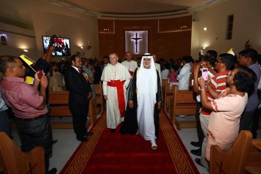 UAE-VATICAN-CHURCH
