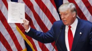 Donald Trump elnökként falat húzatna az amerikai-mexikói határon