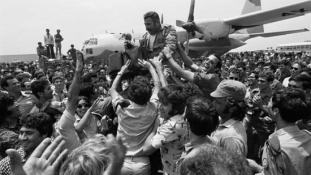 40 éve hajtották végre a világ egyik legvakmerőbb túszmentő akcióját