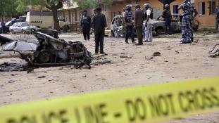 Öngyilkos merénylő robbantott a rendőrakadémián