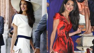 Ideje hízni: szakértőt fogadott fel 40 kilós feleségének George Clooney