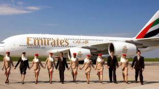 Még minden 20. jelentkező sem lehet stewardess az Emirates-nél