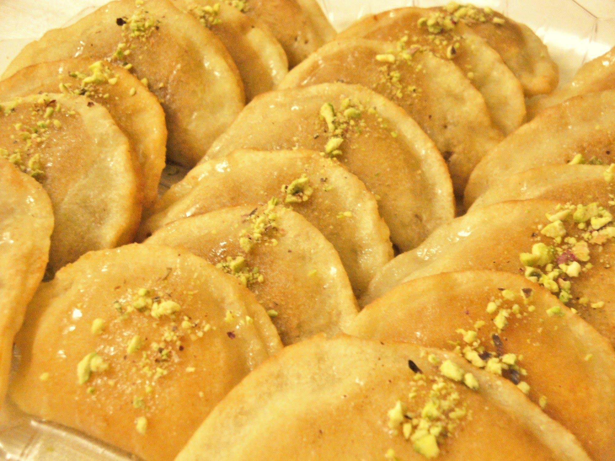 Katajef, a ramadáni kedvenc.