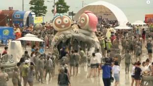 Sárdobálás dél-koreai módra, fesztiváli hangulatban (videóval)