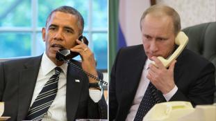 Halló Barack, itt Vlagyimir!