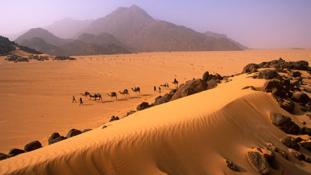 Gazdasági migránsokat söpört el a homokvihar