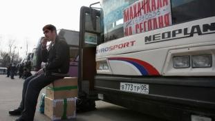 Háromszáz métert zuhant egy busz – gyásznap Dagesztánban