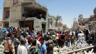 Véletlenül bombát dobott Bagdadra a hadsereg vadászgépe