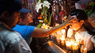Culiacánban, a drogbáró szülővárosában Guzman népszerűbb mint a kormány