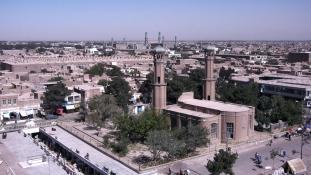Tálib előretörés Afganisztánban