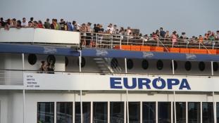 """Hajókáztak a """"Szövetség az életért"""" tábor idei résztvevői"""