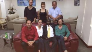 Magyar delegáció Ugandában