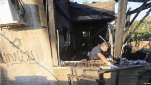 Bennégett a házban egy palesztin kisfiú – telepes támadás Ciszjordániában