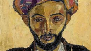 Elveszettnek hitt dél-afrikai festményt találtak egy londoni konyhában