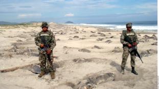 Drónok őrzik a teknősök tojásait Mexikóban
