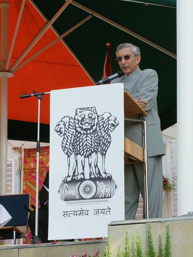 Rahul Chhabra nagykövet.