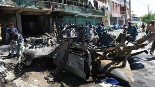 Öngyilkos merénylet Afganisztánban