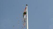 Az új indiai nagykövet függetlenség-napi fogadása
