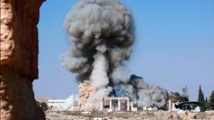 Folytatódnak a rombolások Palmürában