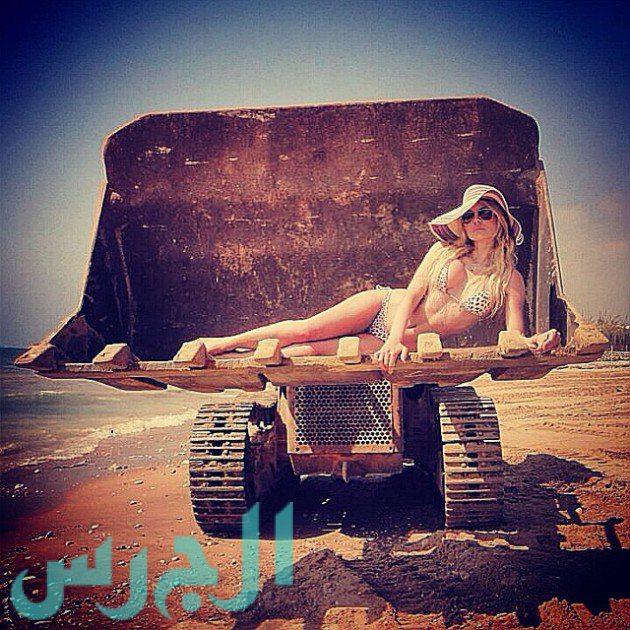 Myriam Klink modellből lett énekes, Libanon.