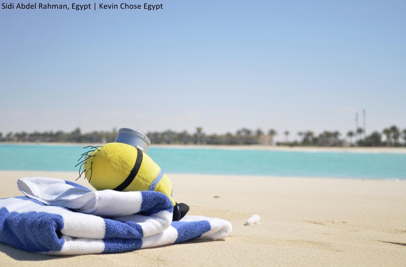 A jól megérdemelt pihenés a tengerparton.