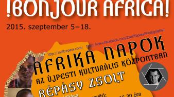 Afrika Napok: Répásy Zsolt kiállítása