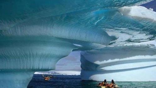 Jégöböl Alaszkában