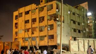 Pokolgép robbant Kairóban