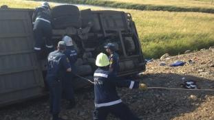 Többen meghaltak egy súlyos buszbalesetben az orosz Távol-Keleten
