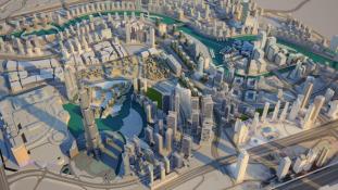 Dubaj lesz a világ első 4 dimenziós városa