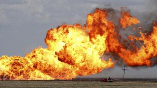 Robbantás az azeri gázvezetéken, Törökországban