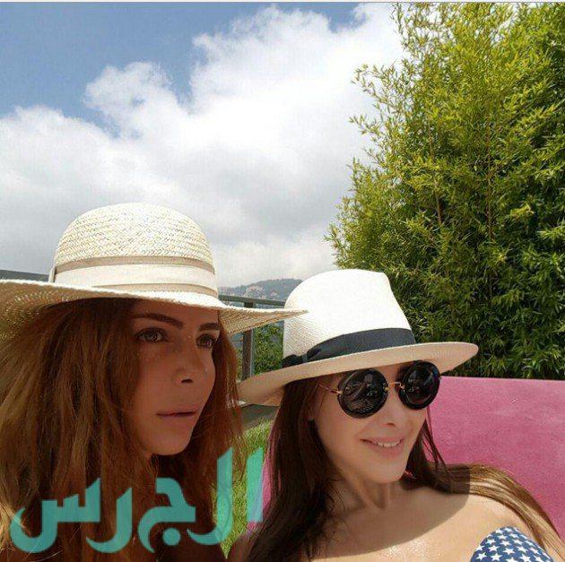 Nancy Ayram énekesnő, Libanon.
