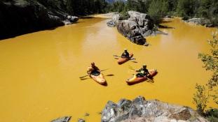 Katasztrófahelyzet Coloradóban: kiömlött egy aranybánya szennyvize