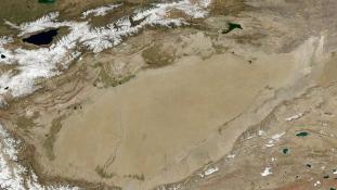 Rejtett óceánt találtak a kínai sivatag alatt