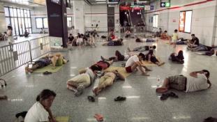 Az IKEA-ba költöztek a meleg elől a lakosok Kínában