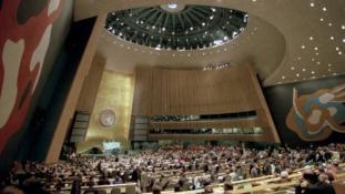 Castro, Hruscsov, Kadhafi és mások az ENSZ Közgyűlésén