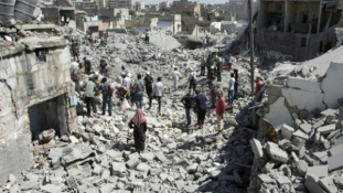 Aleppót bombázták – a felkelők eddigi legvéresebb támadása