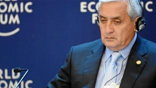 Lemondott Guatemala elnöke