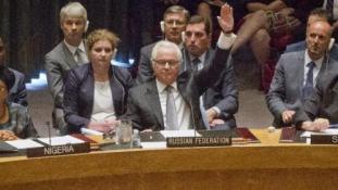 Az oroszok beintettek az USA-nak az ENSZ BT-ben