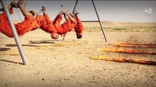 Elevenen égetett el embereket az Iszlám Állam – már megint