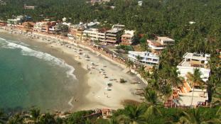 Séta a dél-indiai Kerala tengerpartján
