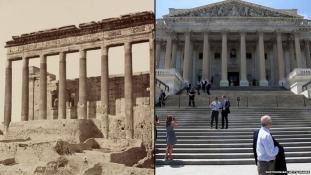 Így él tovább a lerombolt Palmüra – Washingtonban